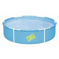 Детский бассейн Bestway каркасный круглый 152х38 см, артикул 56283