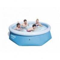 Круглый бассейн Fast Set 244х66 см Bestway