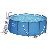 Каркасный бассейн  Bestway 366x133см + фильтр,насос, лестница