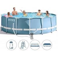 Каркасный бассейн Intex 457x122 + полный комплект аксессуаров