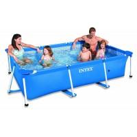 Каркасный бассейн INTEX прямоугольный Rectangular Frame 300х200х75