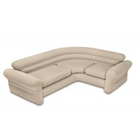 Диван надувной угловой  Intex Corner Sofa, 257х203х76 см
