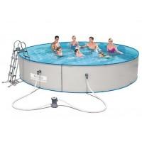 Стальной круглый бассейн 460х90 см Bestway Hydrium Splasher