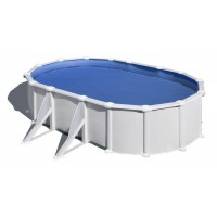 Каркасный морозоустойчивый бассейн GRE 7,3 х 3,75 х 1,32 (врезной скиммер + форсунка)