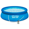 Бассейн с надувным кольцом Intex Easy Set 396x84 см + фильтр-насос
