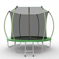 Батут с внутренней сеткой и лестницей EVO JUMP Internal 8ft (Green)