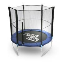 Каркасный батут Start Line Fitness 8FT с внешней сеткой 244х244 см