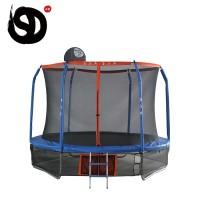 Батут каркасный Trampoline ACTICO с баскетбольной корзиной,305х305х230 см CFR10ft-3W6P