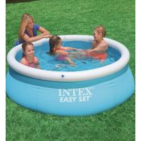 Бассейн надувной для детей и взрослых 183-51 см Intex, не каркасный