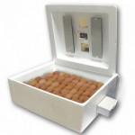 Инкубатор 63шт (№46г) 12/220В, цифров.термостат, гигрометр