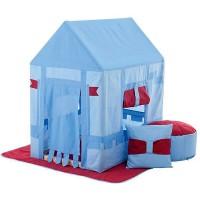Текстильный домик с пуфиком PAREMO Замок Бристоль