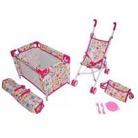 Набор Mary Poppins 3 в 1 Фантазия кроватка коляска-трость