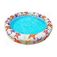 Детский бассейн надувной 122х25 см Звезды