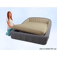 Двуспальная надувная кровать Intex 67972 193Х241Х76 см