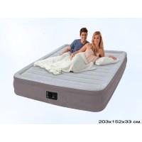 Надувная кровать Intex Comfort Plush Mid Rise Airbed 67770 152Х203Х33 см