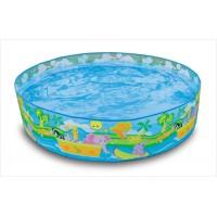 Детский каркасный бассейн Джунгли