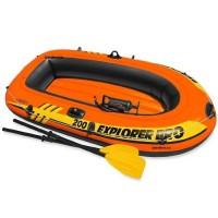 Надувная двухместная лодка EXPLORER PRO Intex