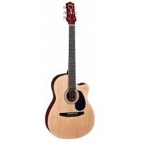 """Акустическая гитара с вырезом 38"""" Naranda CAG110CNA"""