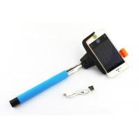 Монопод для селфи WDM Z07-5, беспроводной, голубой