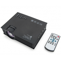 Проектор Unic UC68 (wi-fi) черный