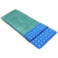 Спальный мешок Picrest Camping, одеяло с подголовником, зеленый
