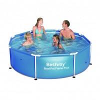 Каркасный бассейн Bestway круглый 244х61 56045