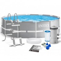 Каркасный бассейн Intex Prism Frame Pool 366х99 см