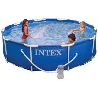 Каркасный бассейн Intex 457х84 см (полный комплект)