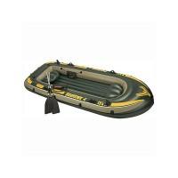 Надувная лодка Intex Seahawk 4 (весла, насос в комплекте)