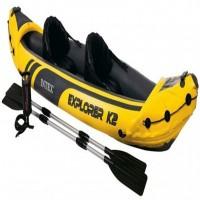 """Надувная лодка """"Explorer К2"""" Intex 68307"""