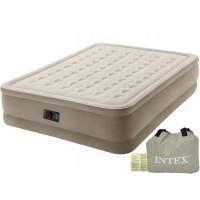Надувной матрас-кровать Intex Ultra Plush Airbed (со встроенным насосом 220-240В)