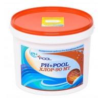 Ph+pool 90мт многофункциональные таблетки хлора 3в1 по 200гр 5кг