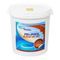 PH+Pool 90МТ Многофункциональные таблетки хлора 3в1 по 200гр 30кг