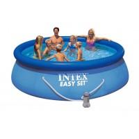 Водораспорный бассейн Intex 366х91 (фильтр-насос в комплекте)